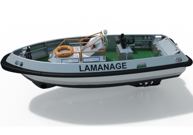 UMS River Tug, L-8,25m